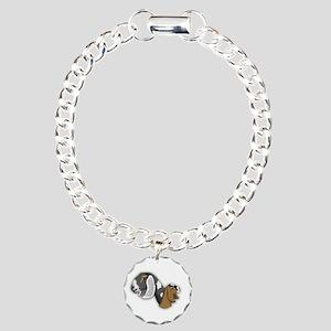 Nubian Goat Charm Bracelet, One Charm