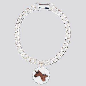 Oberhasli Goat Charm Bracelet, One Charm
