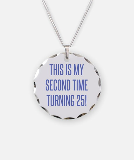 Funny 50 year old birthday party Necklace
