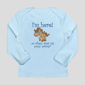 PONY Long Sleeve Infant T-Shirt