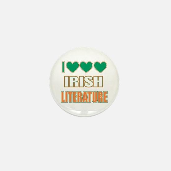 Irish Literature Mini Button