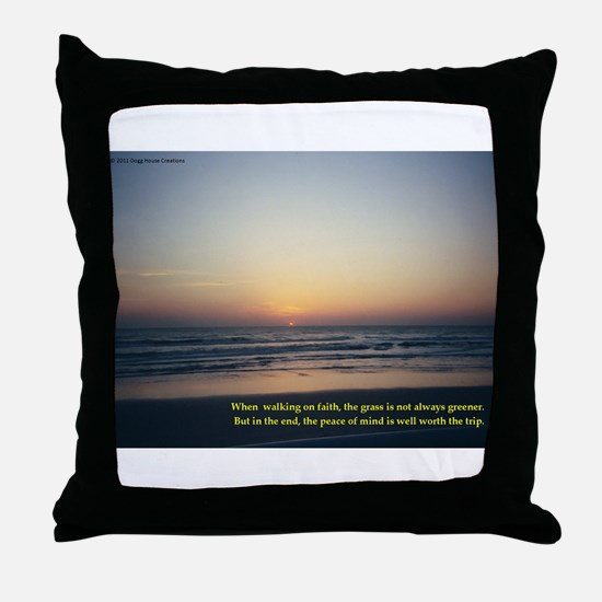 Funny Excellence Throw Pillow