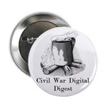 "2.25"" Button With Coffee Mug Graphic"