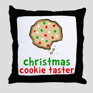 Cookie Taster Throw Pillow