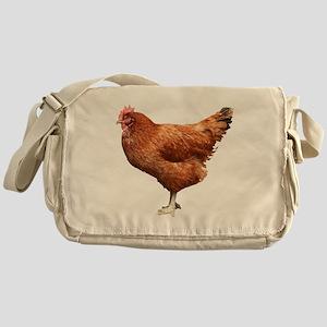 Red Hen Messenger Bag