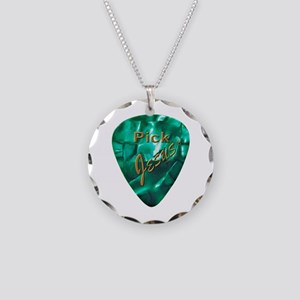 Pick Jesus Necklace Circle Charm