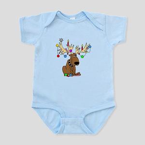 Reindeer Dog Infant Bodysuit