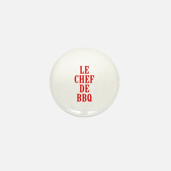 Le Chef De BBQ Mini Button