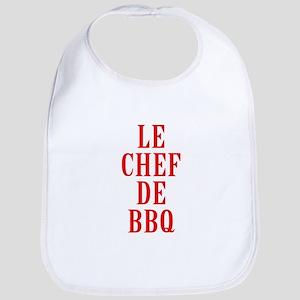 Le Chef De BBQ Baby Bib