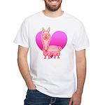 Alpaca White T-Shirt