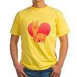 Alpaca Yellow T-Shirt