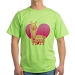 Alpaca Green T-Shirt