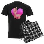 Alpaca Men's Dark Pajamas