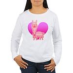 Alpaca Women's Long Sleeve T-Shirt