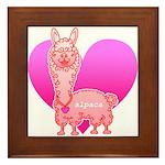 Alpaca Framed Tile