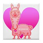 Alpaca Tile Coaster