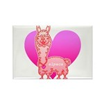 Alpaca Rectangle Magnet (10 pack)