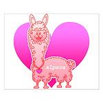 Alpaca Small Poster