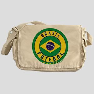Brasil Futebol/Brazil Soccer Messenger Bag