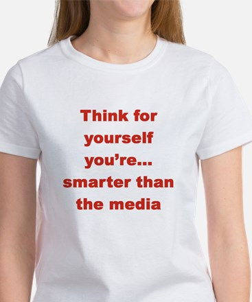 Think for yourself..you're smarter than the media