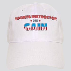 Sports instructor for Cain Cap