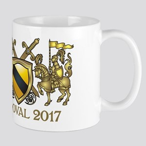 SANDOVAL COAT OF ARMS Mugs
