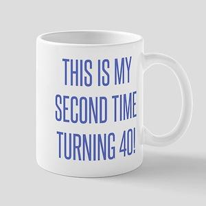 80th Birthday Gag Gift Mugs