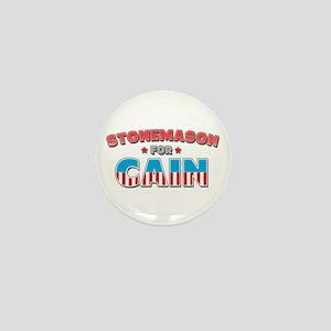 Stonemason for Cain Mini Button