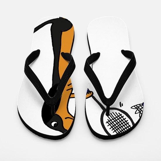 Unique Badminton Flip Flops