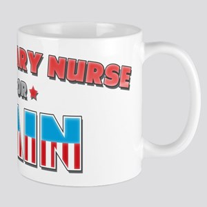 Veterinary nurse for Cain Mug