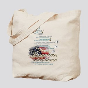 God bless America: Tote Bag