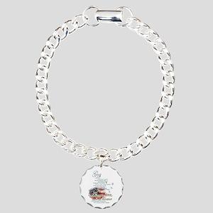 God bless America: Charm Bracelet, One Charm