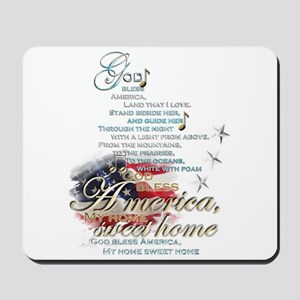 God bless America: Mousepad