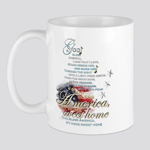 God bless America: Mug