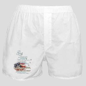 God bless America: Boxer Shorts