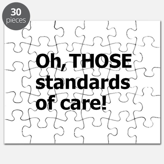 THOSE Standards! Puzzle
