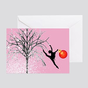 Holiday Dancer by DanceShirts.com Greeting Card