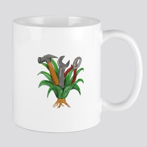 Agave Plant Spanner Hammer Pliers Tattoo Mugs