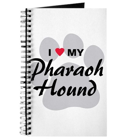 I Love My Pharaoh Hound Journal