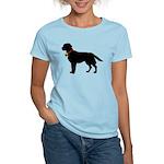 Labrador Retriever Silhouette Women's Light T-Shir