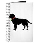 Labrador Retriever Silhouette Journal