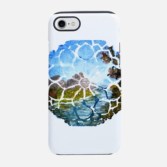 Mandala Summer River iPhone 7 Tough Case