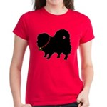 Christmas or Holiday Pomerani Women's Dark T-Shirt