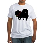 Christmas or Holiday Pomerani Fitted T-Shirt