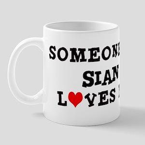 Someone in Sian Mug