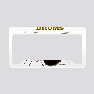 DRUMS License Plate Holder