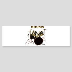 DRUMS Sticker (Bumper)