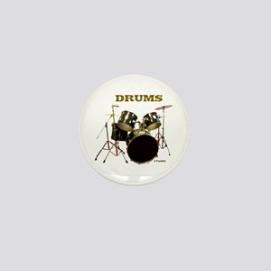 DRUMS Mini Button