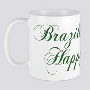 Brazilian Wife Happy Life Mug