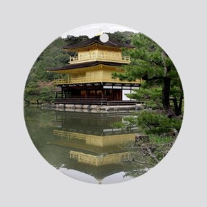 Helaine's Golden Pavilion Ornament (Round)